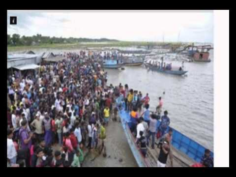 Passengers missing in Bangladesh ferry sinking