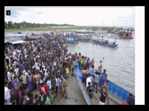 Passengers missing in Bangladesh ferry sinking