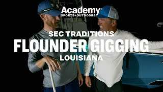 SEC Traditions: Flounder Gigging with Marty Smith