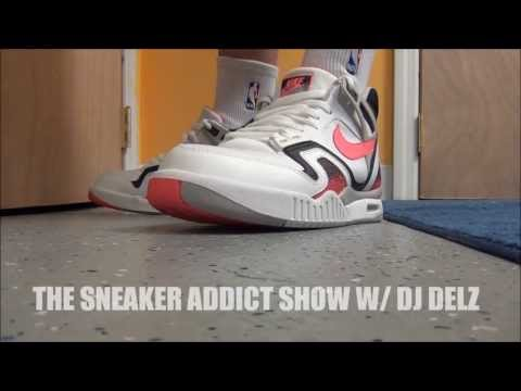 Nike Air Tech Challenge 2 II Agassi  Hot Lava Shoe Review + On Feet W/ DJ Delz The Sneaker Addict