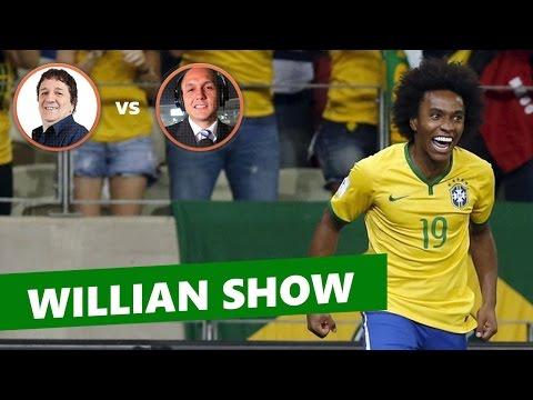 Brasil 3 x 1 Venezuela - narrações: Luiz Penido vs Carlos Domingues