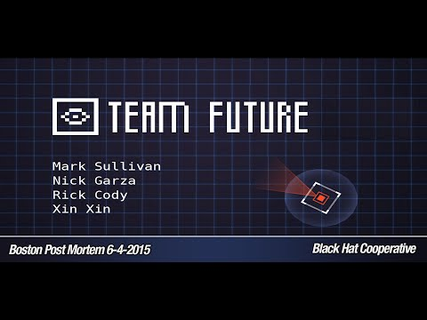 Boston Post Mortem: June 2015 Meeting – Team Future on Black Hat Cooperative