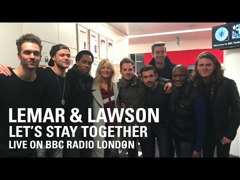 Lemar & Lawson | Let's Stay Together - Live on BBC Radio London