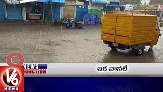 9PM Headlines | Rains In Telangana | Sooramma Project | Jana Chaitanya Yatra | NRT Icon Project