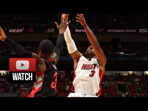 Dwyane Wade Full Highlights vs Raptors (2014.11.02) - 19 Pts, 11 Reb, 7 Ast
