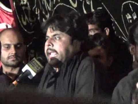 Zeshan Haider Qurban Jafri Majlis 25 rajab 2016 Jalsa Zakir Mukhtar Hussain Garera Gujrat