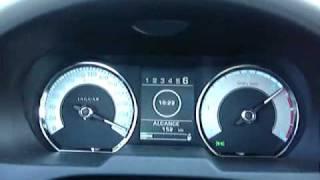 Jaguar XF 2.7D Top Speed 270km/h