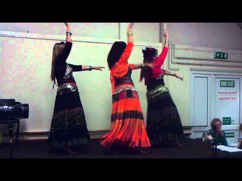 Aziza Teresa Griffins Egyptian Belly Dance Group Dancing At Peterfield Community Center video