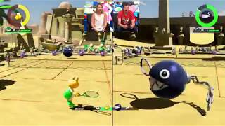 Nintendo Treehouse Live - E3 2018 - Mario Tennis Aces with Koopa Troopa and Blooper