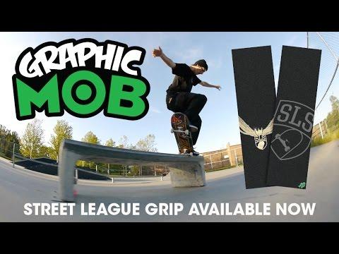 MOB Grip: Tom Asta Skates Street League Graphic MOB Grip