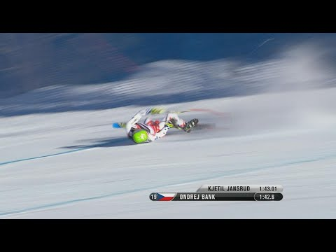 Ondrej Bank crash | Vail Beaver Creek 2015