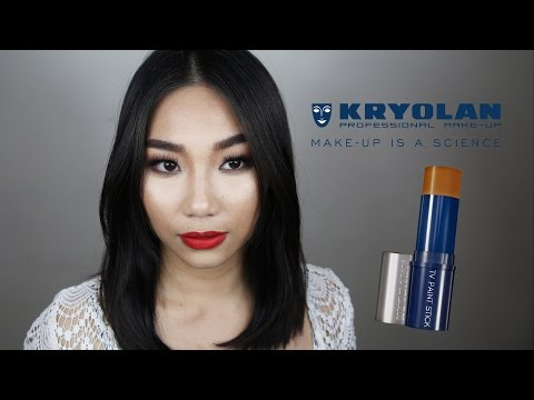 Review: Kryolan TV Paint Stick and more products Part 1/2 | Raiza Contawi