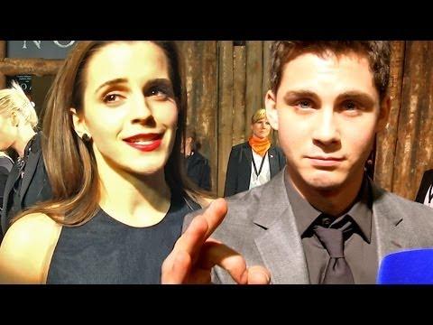 Emma Watson & Logan Lerman auf der Noah-Premiere!