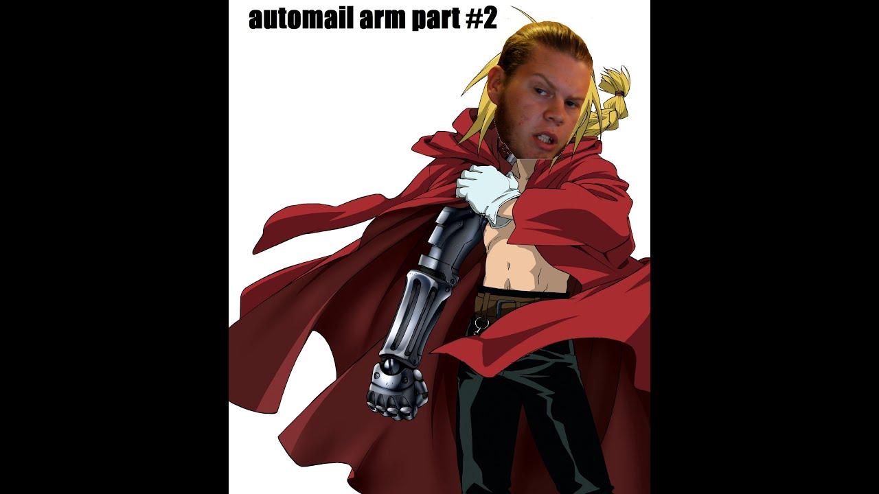 Edward Elric Automail Arm