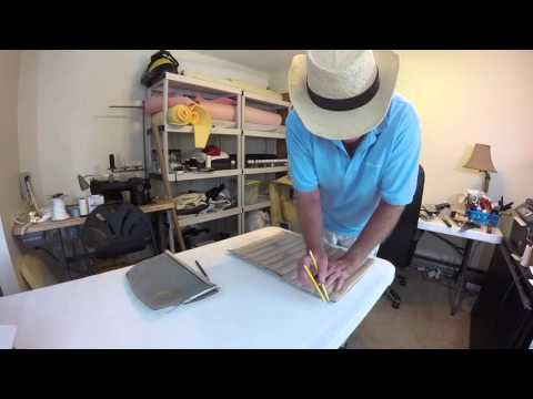 Boat Upholstery Chap 12 Boat Seat rebuild -template duplication
