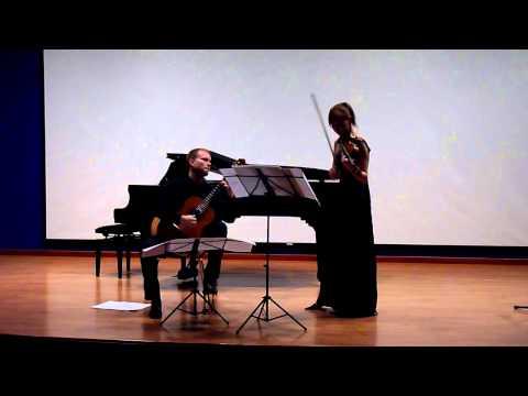 Haniszewska-Kandulski Duo: AJ Lanman - Sonata 46
