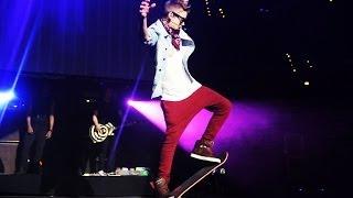 Justin Bieber Skateboarding Best Tricks & Worst Falls