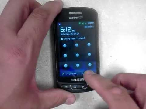 Forgot password factory reset samsung admire r720