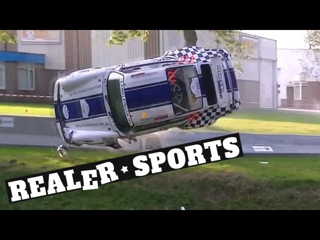 REALER SPORTS - Ep30 - Crazy Crashes & Public Groping!