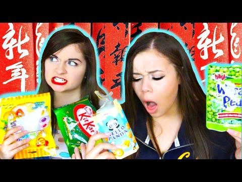 Americans Try Asian Food! | HeyItsSarai