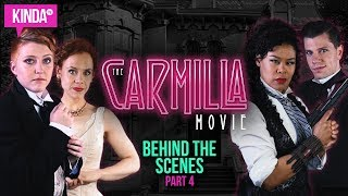 BEHIND THE SCENES w/ The Scoobs | The Carmilla Movie | KindaTV