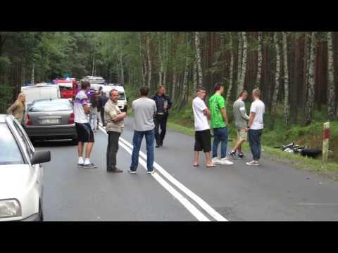 Tragiczny Wypadek, Motocykliście Urwało Nogę