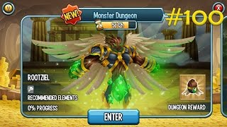 Monster Legends - Episode #100 Monster Dungeon Part 3 Rootziel (Final)