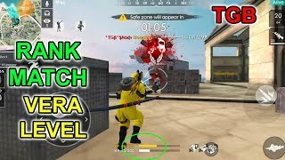 Free fire ranked gameplay | free fire Tamil | TGB