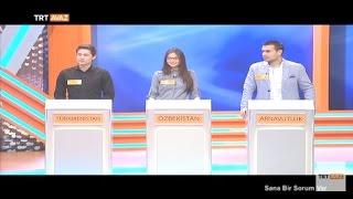 Türkmenistan, Özbekistan ve Arnavutluk Yarışmacıları - Sana Bir Sorum Var - TRT Avaz