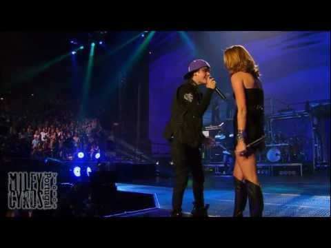 """Overboard"" (HD & 3D) – Miley Cyrus & Justin Bieber live at (ao vivo no) Madison Square Garden"