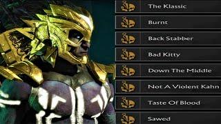 Mk11 - Kotal Kahn  All Brutalities Showcase