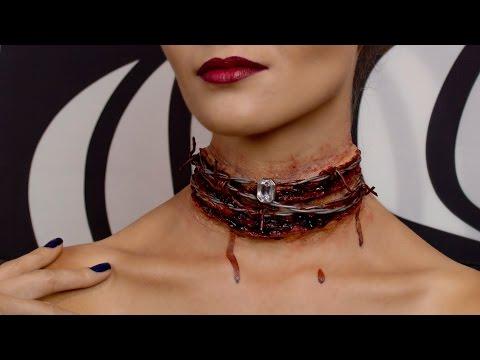 Halloween Bloody Diamond Necklace | SFX