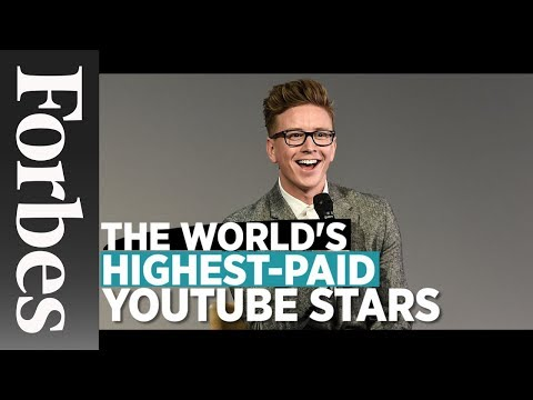 The World's Highest-Paid YouTube Stars