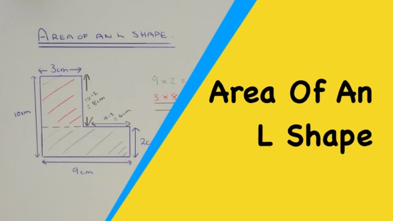 How To Work Out The Area Of A L Shape Compound Composite