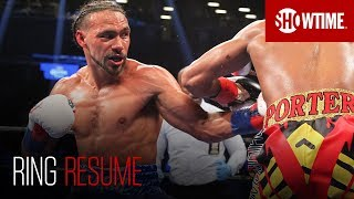 RING RESUME: Keith Thurman   SHOWTIME Boxing