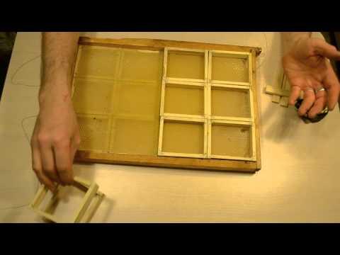 Рамки сотового меда своими руками