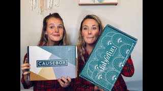 UNBOXING | CAUSE BOX VS. FABFITFUN | WHICH ONE IS BETTER?
