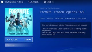 How To Get The Frozen Legends Pack For Free Fortnite Frozen Legends