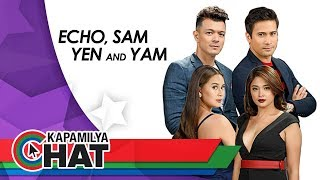Kapamilya Chat with Jericho Rosales, Sam Milby, Yen Santos, and Yam Concepcion for Halik