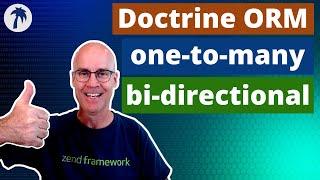 Doctrine ORM one-to-many bi-directional association 015