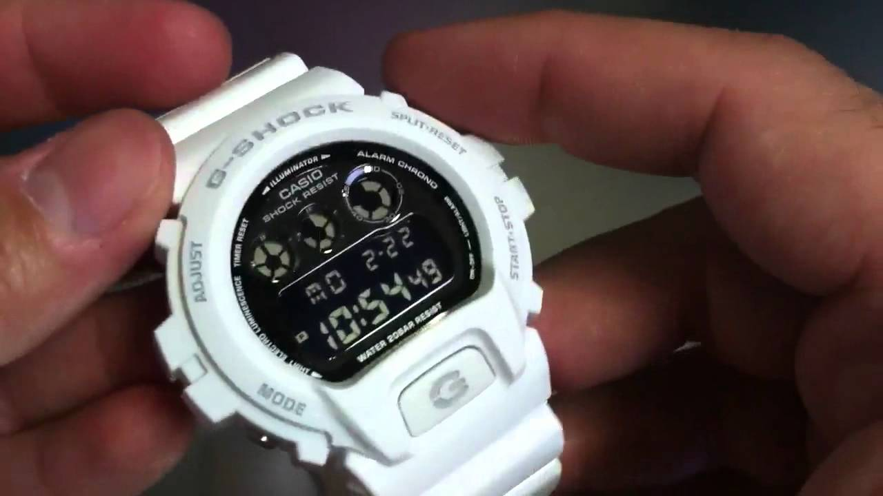 how to change time on g shock 5229