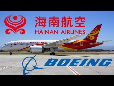 HD Inaugural Hainan Airlines Boeing 787-8 B-2759 Takeoff from San Jose International Airport