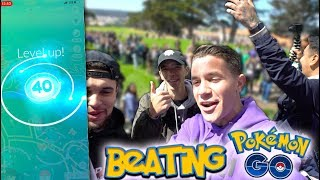 HITTING LEVEL 40 - I BEAT Pokémon Go! + SHINY BULBASAUR Catches & Evolutions!