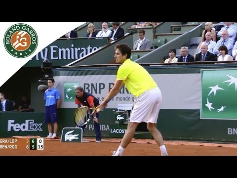 J.Benneteau/ E.Roger Vasselin def. M.Granollers /M.Lopez 6-3, 7-6 DISCOVER our Roland Garros Channel:http://www.youtube.com/rolandgarros SUBSCRIBE to The Roland Garros YouTube Channel: ...