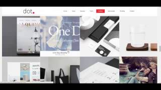 DOT   Creative One Page Multi Purpose Theme +Download Link