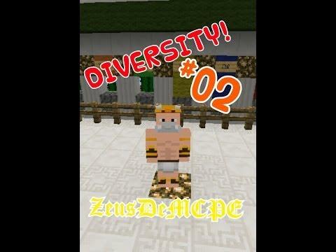 Mapa de aventuras Diversity en MCPE #02