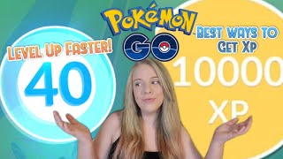 XP GUIDE: How to Level Up Fast in Pokemon Go!