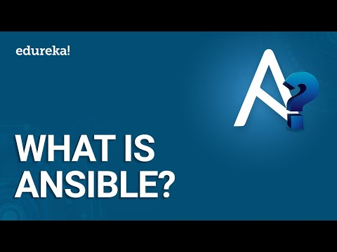 What Is Ansible? | Ansible Tutorial For Beginners | DevOps Tools | DevOps Training | Edureka