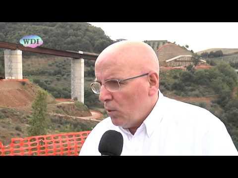 Acri: Mario Oliverio visita i cantieri della Sibari-Sila