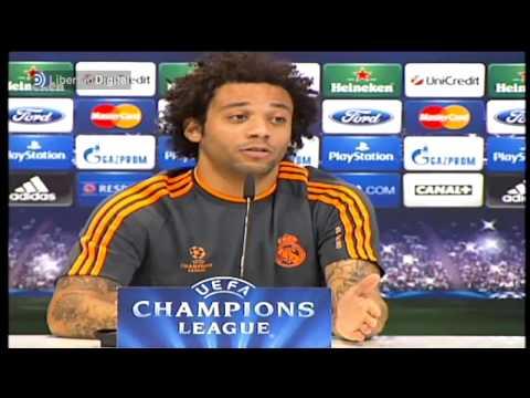 Marcelo se enfada con la prensa por su relación con Cristiano Ronaldo